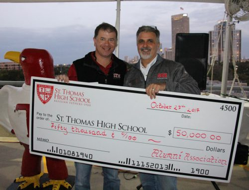 St. Thomas Alumni Association Gifts $50,000 to 4500Forever Finish Strong Capital Campaign