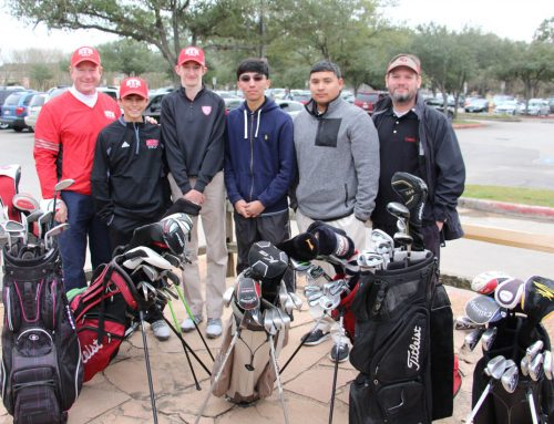 Eagle Golf Grows Game by Giving to South Houston High School