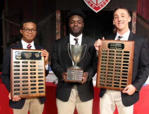 McCoy '17, Yeboah '17 and Bishop '17 Headline Academic Awards Assembly