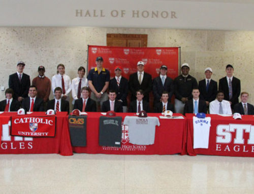 Spring Signing Celebration Salutes More Than Two Dozen Eagles Embracing College Athletic Opportunities