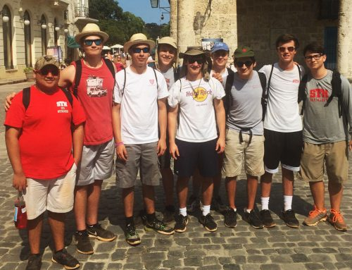 #TBT Eagle Students Embrace Cultural Exchange Through Mission Trip to Cuba