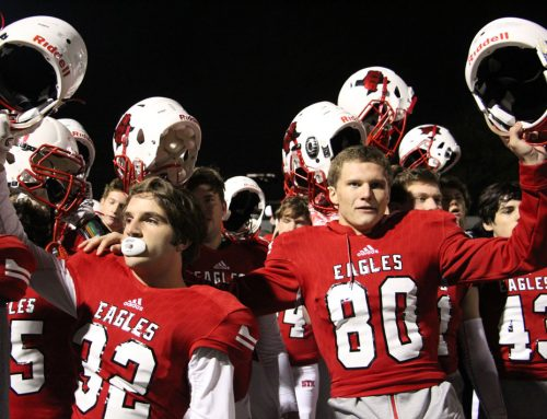 Eagle Football Crushes Beaumont Kelly in District Opener for Third Straight Victory