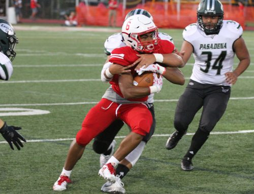 Eagle Football Pounds Pasadena in Annual Homecoming Celebration
