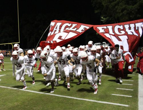 Eagle Football Falls in Regular-Season Finale, Travels to Open TAPPS Playoffs