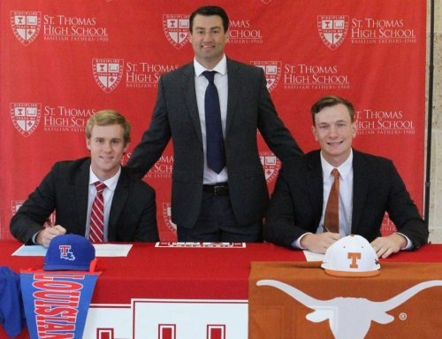 Matulia '18 and Meaney '18 Share November National Signing Day Stage