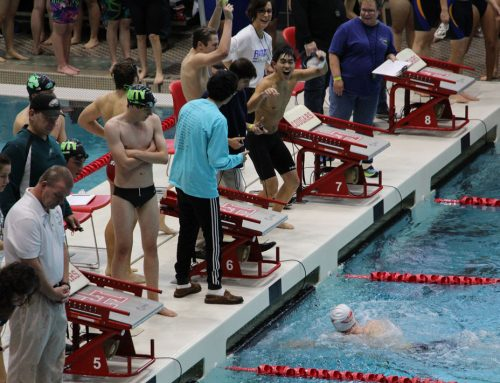 Zetka '18 Blazes in Individual and Relay Wins to Pace Eagle Swimming to TAPPS East Regional Championship