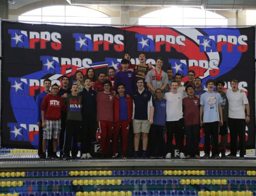 Eagle Swimming Matches Best-Ever Showing at TAPPS State