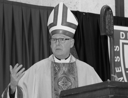 Bishop Cahill '81 Keynote Speaker at Archdiocesan Prayer Breakfast July 19