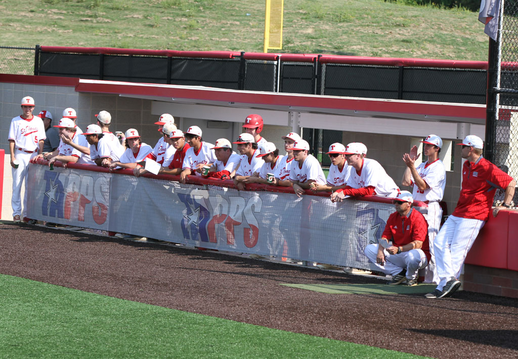 2018 Baseball Playoffs State Dugout St Thomas High School