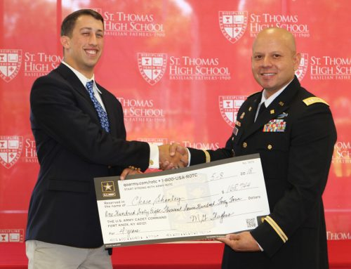#TBT Chase Shanley '18 Earns ROTC Scholarship to The Citadel to Lead and Serve