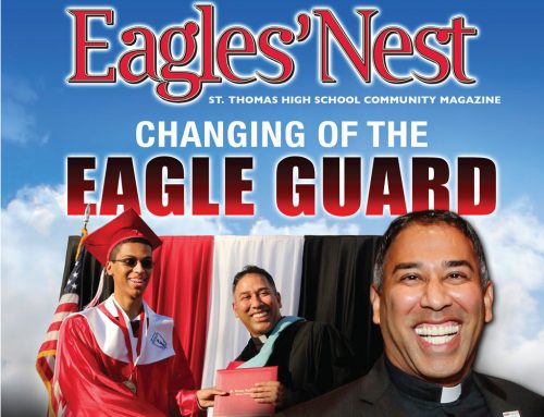 The Latest Award-Winning 'Eagles' Nest' Publication – Fall 2018, Changing Of The Eagle Guard