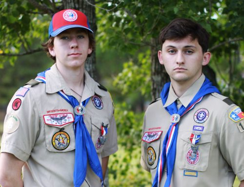 Ethridge '19 and McStravick '19 Earn Prestigious Rank of Eagle Scout
