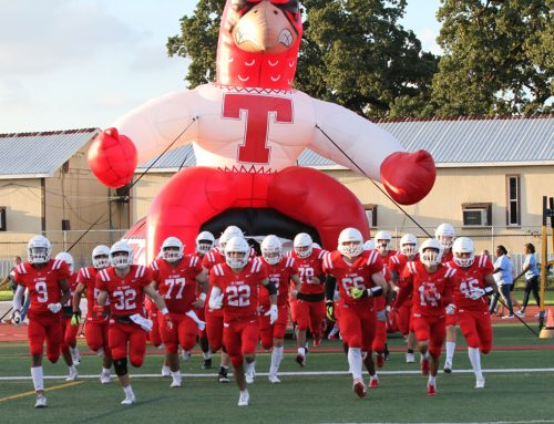 Red & White Rocks Friday Night!  Resurgent Eagle Football Hosts District Showdown with St. Pius X