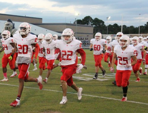 Resilient Eagle Football Captures Commanding Win to Open District Competition