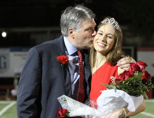 Celeste Fleming from Duchesne Academy of the Sacred Heart Honored as 2018 Homecoming Queen