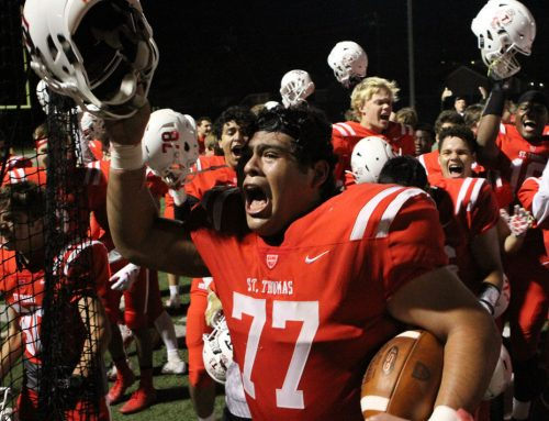Eagle Football Reclaims District Title with Pulse-Pounding Win over St. Pius X