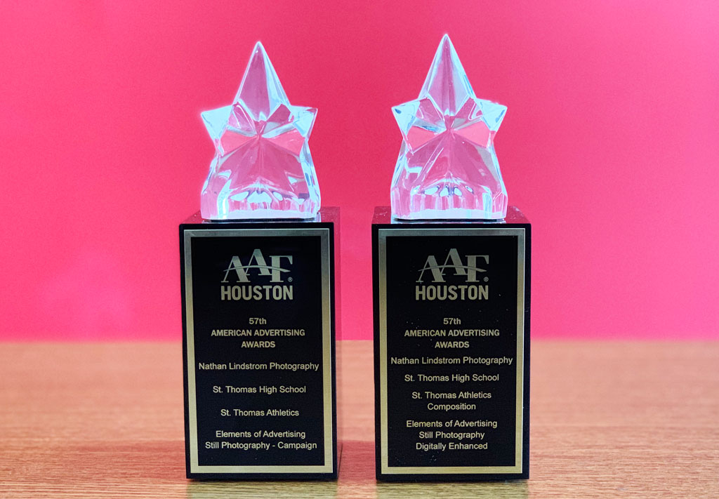 St  Thomas Shares in Recognition at Houston's American Advertising