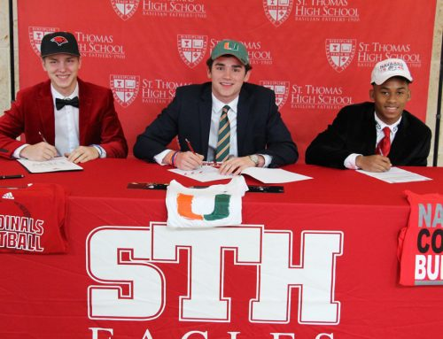 Cheek '19, Matocha '19 and Dixon '19 Center Stage on National Signing Day