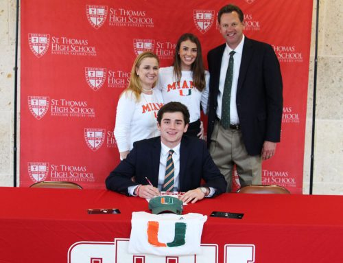 Patience Pays for Peyton Matocha '19 – National Letter of Intent to Miami