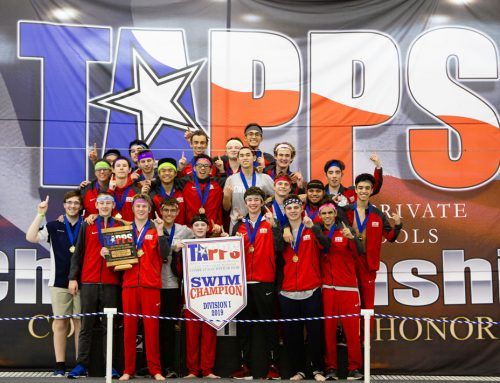 Aqua Eagles – St. Thomas Seizes First-Ever TAPPS State Swimming Championship