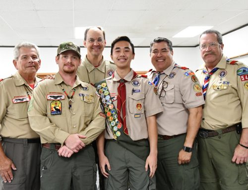 Henderson '19 and Lenz '19 Latest Eagle Scholars to Earn Prestigious Eagle Scout Distinction