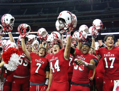 #TBT – Keating '16 Ignites Eagle Football to Pulse-Pounding Win over Strake Jesuit at NRG Stadium