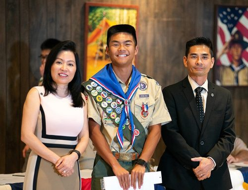 Pham '21 Latest Eagle Scholar to Earn Prestigious Eagle Scout Distinction