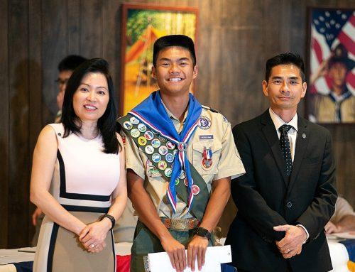 Pham '21 Latest Eagle Scholar to Earn Prestigious Eagle Scout Distinction
