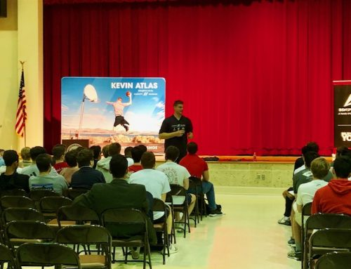 "Kevin Atlas & the ""Believe in You"" tour visits St. Thomas High School"