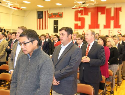 All Saints Day Mass Celebrates Spiritual Bond That Unites Eagle Fathers and Sons