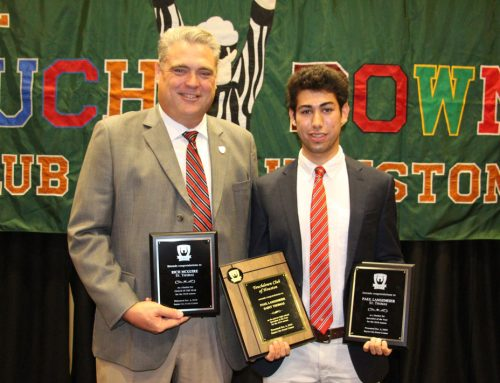 Langemeier '20 Leads Eagle Football Distinction from Touchdown Club of Houston