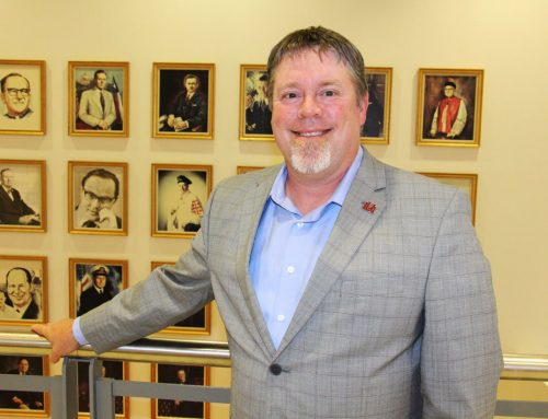 Social Studies Dean Brett Mills Embraces Academic Fellowships to Further Connect with Eagle Scholars