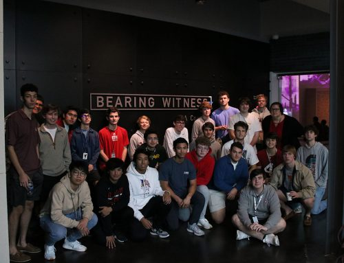 St. Thomas High School Students Visit the Holocaust Museum