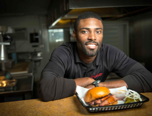 #TBT 2015 'First Monday With Mike' Features Greg Gatlin '98 from Gatlin's BBQ