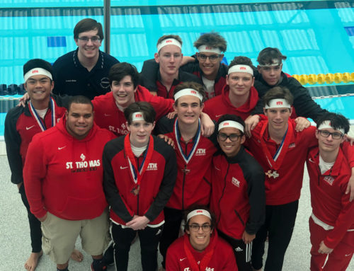 Aqua Eagles Race to Second Consecutive TAPPS Division I Swimming Championship