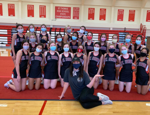 Eagle Cheer Enjoys Boost from Emmy Award-Winning Choreographer Kathryn Burns