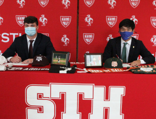 National Signing Day || Will Rizzo '21 and Max Chung '21 Charting New Courses