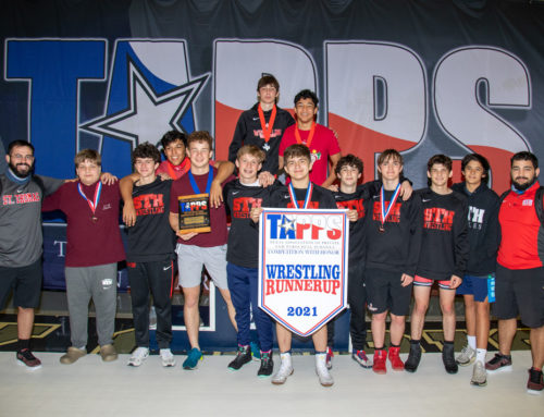 Strong to the Finish || Eagle Wrestling Stakes Runner-Up Result at TAPPS State Championships