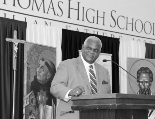Passion Purpose Priorities || Raymond Bourgeois '70 Relishes Entry into St. Thomas Hall of Honor