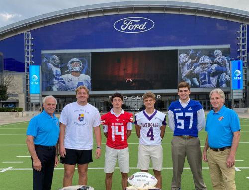 "Nation Takes Notice || ""Fox and Friends Weekend"" Showcases St. Thomas During Catholic Bowl Celebration"