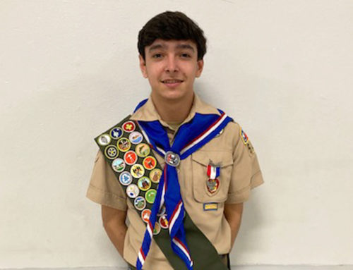 Eagle Excellence in Action || Ryan Hernandez '23 Earns Prestigious Eagle Scout Rank